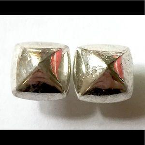 SPIKE Stud Earrings Silver